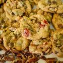 Award Winning Cookies, chocolate chip, pecans, cherries