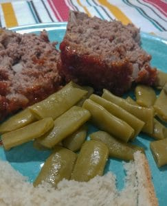 Marvelous Meatloaf, comfort food