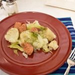 Cabbage, Potato, Sausage Pressure Cooker Meal