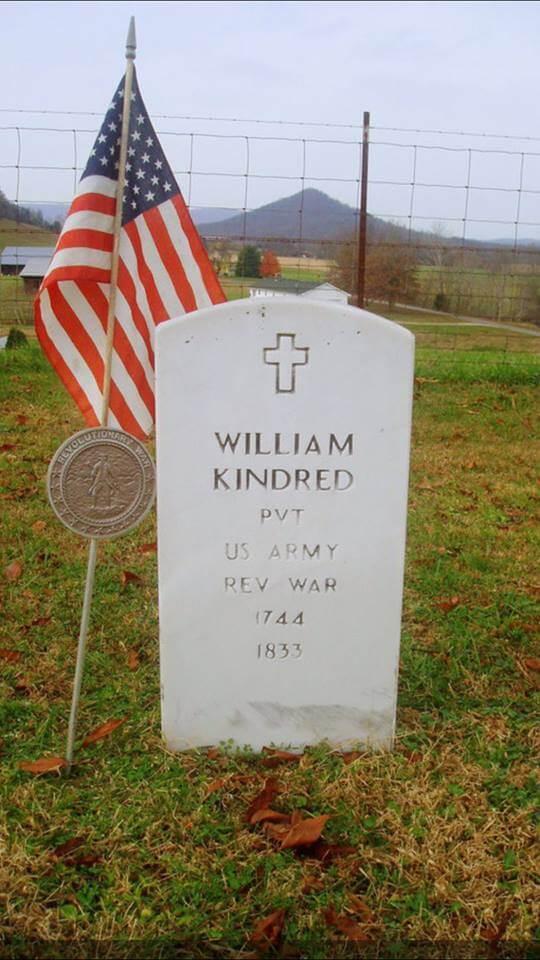 Revolutionary War William Kindred