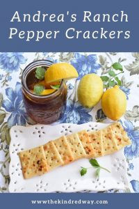 Ranch Pepper Crackers