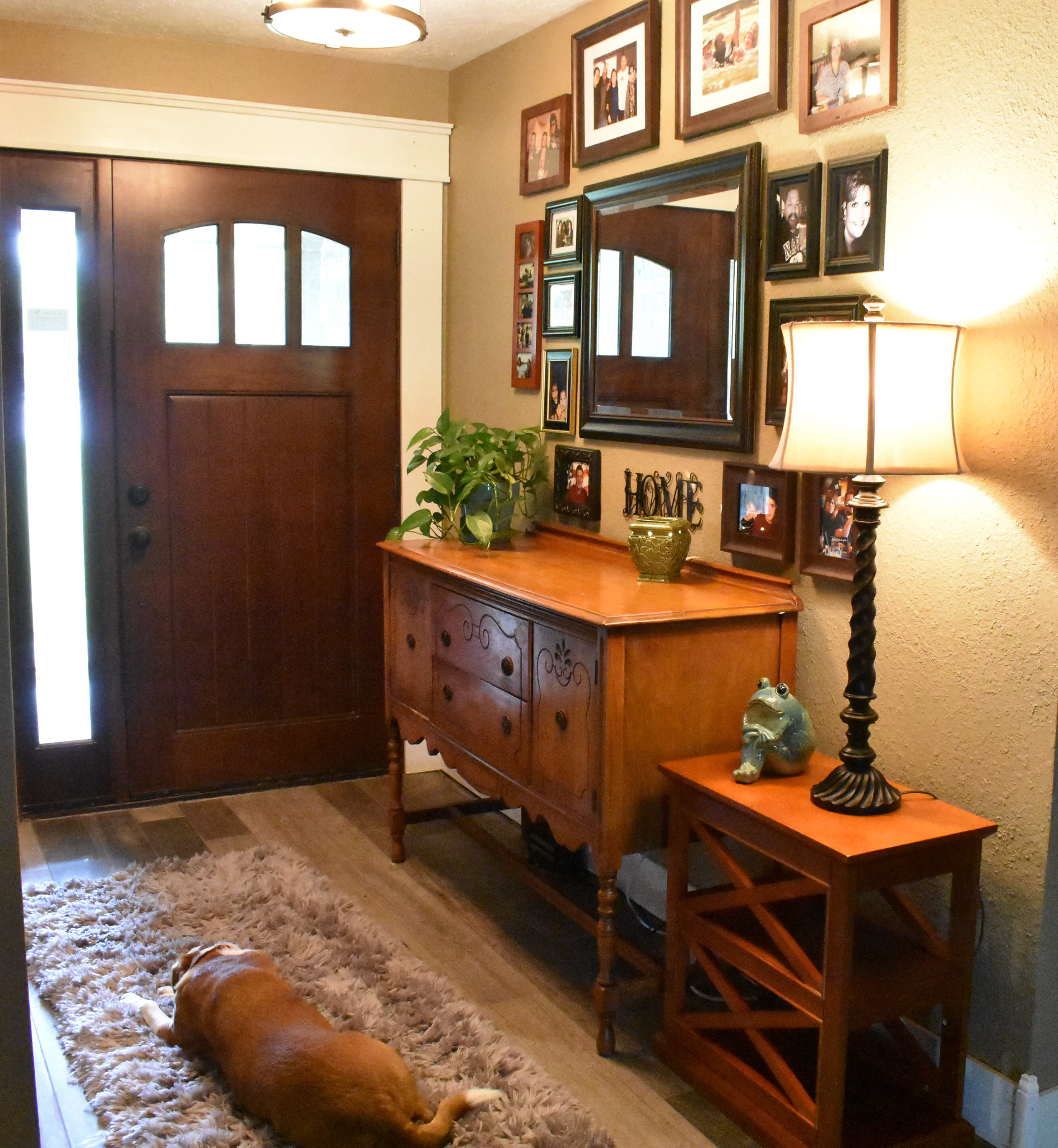 Makeover Your Entryway for $0